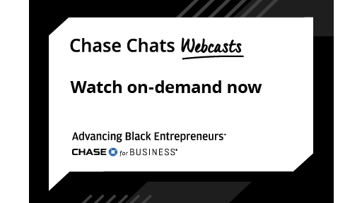 Chase Chat Webcasts